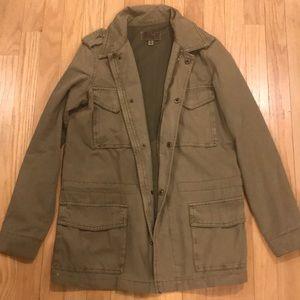 Ecote oversized military/utility jacket